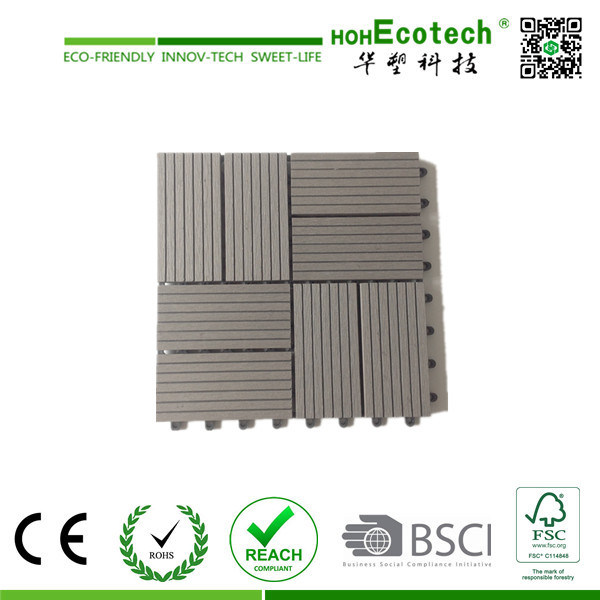 WPC Extrusion, Wood-Plastic Composite Engineered Flooring WPC Decking Tile 30