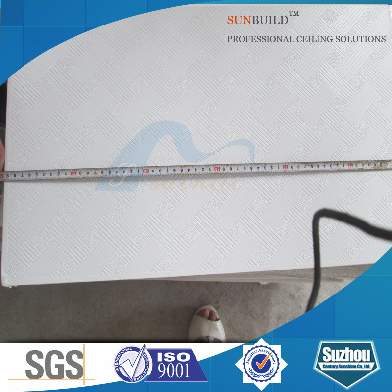Suspended PVC Gypsum Board Ceiling Panels (ISO, SGS certificated)