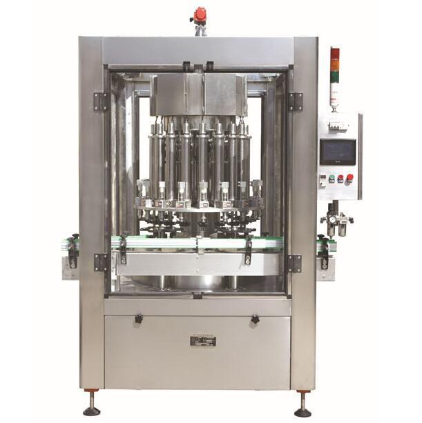 Intelligent Automatic Filling Machine High Accuracy PLC Customized