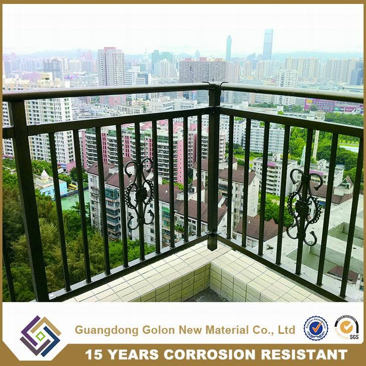 Customized Good Quality Iron Terrace Railing Handrail