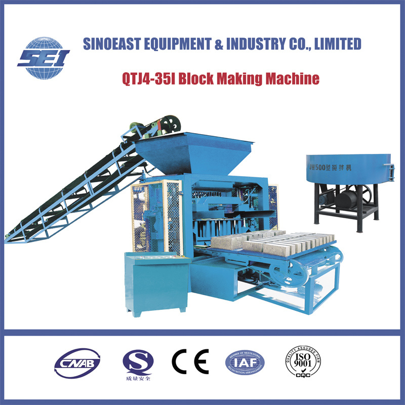 Qtj4-35I Block Making Machine