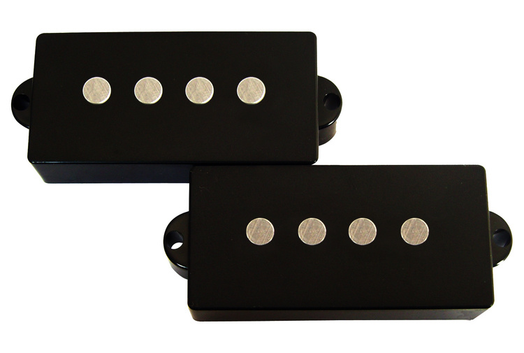4 String Open Style AlNiCo 5 Flatwork P Bass Pickup
