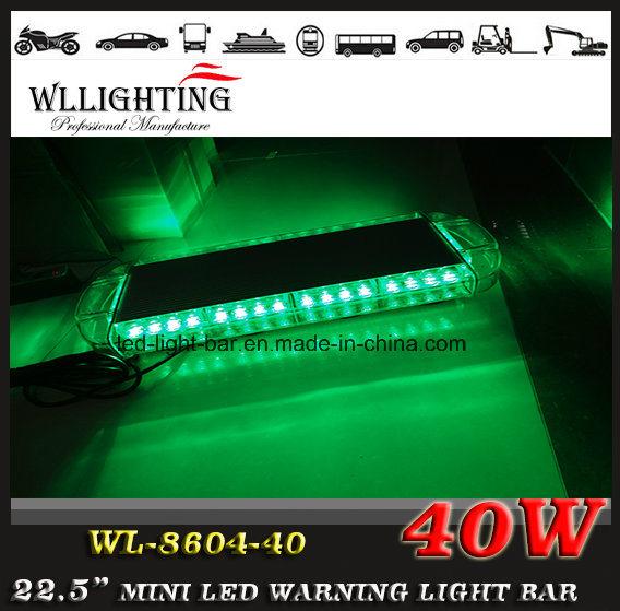 12V-24V Magnetic 40 LED Warning Mini Light Bar