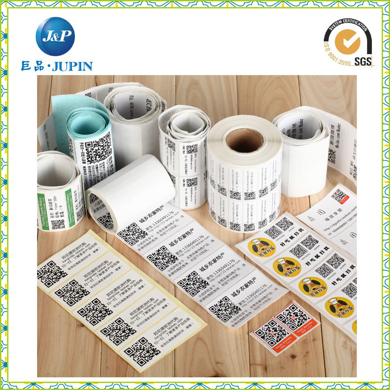 Wholesales Custom Roll Printed Barcode Label (JP-s012)
