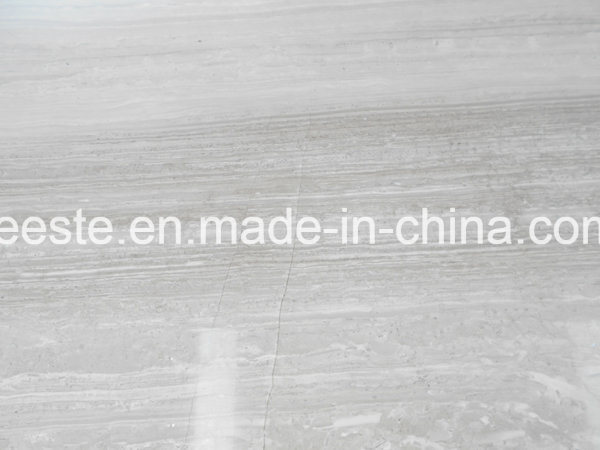 Building Material Timber White Marble, Marble for Project and Decoration