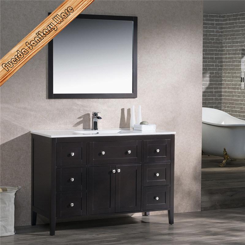 Fed-1960A High Quality Solid Wood Bathroom Vanity Bathroom Cabinet