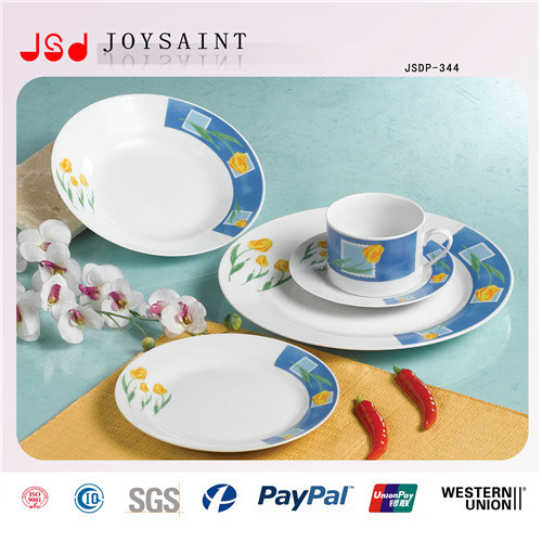 Ceramic Plate Set with Different Design or Customer′s Design