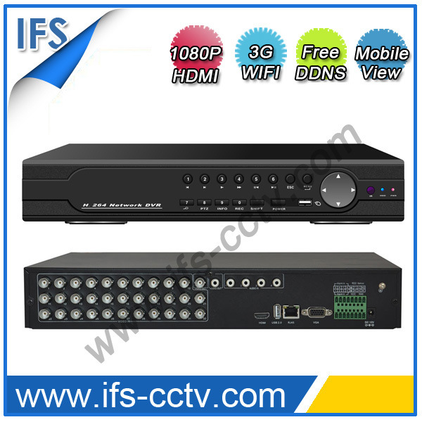 32channel H. 264 1080P HDMI DVR/NVR/HVR (ISR-S5232)