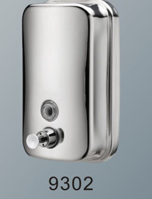 Reliable Quality 800ml Chrome Wall Mounted Stainless Steel Soap Dispenser