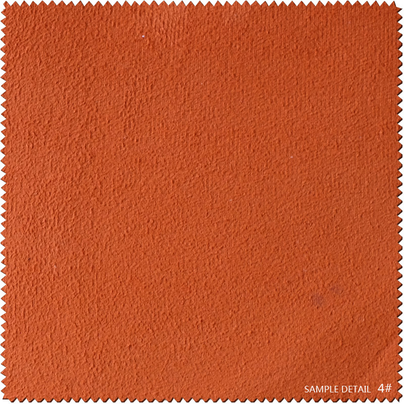Embossed Colorful Cloth Fabric Leather for Shoes (CF021150E)