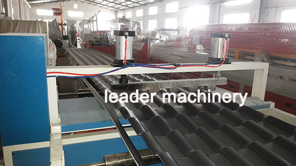 PVC+ASA Corrugated Roofing Sheet Roof Tile Extrusion Machine