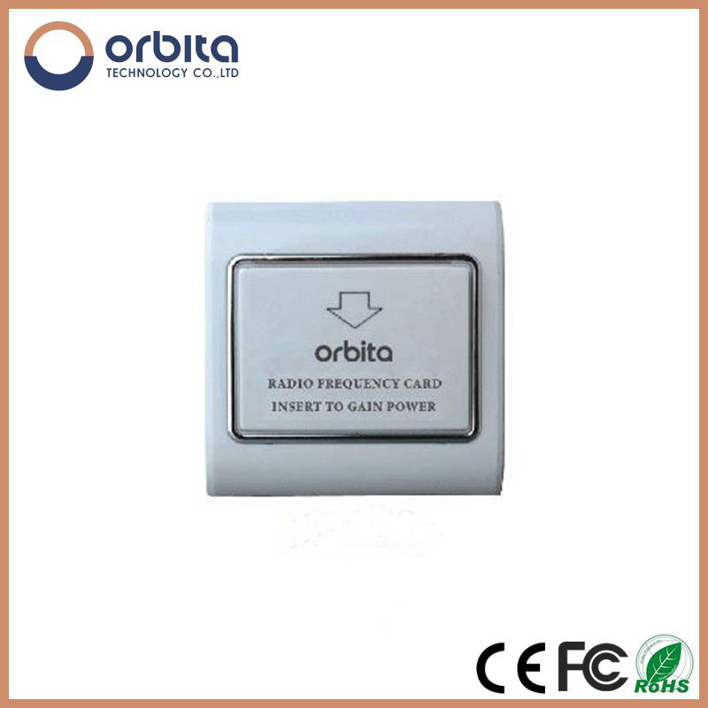 AC 120-240V, 30A RF Card Sensor Wall Mount/Socket Power Switch Hotel Energy Saving Switch