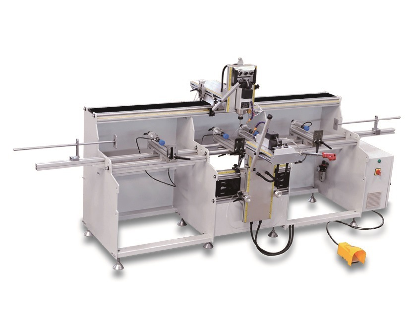 Multi Spindle Copy Router for Aluminum Window and Door 3