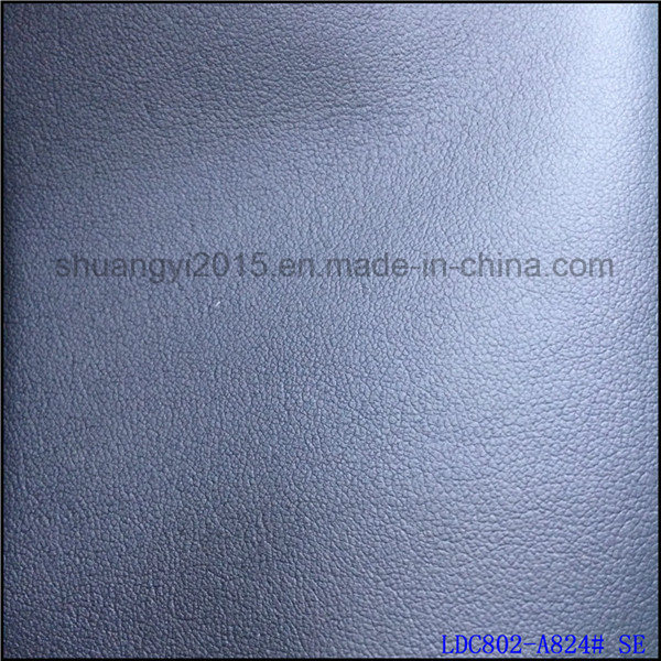 1.4mm Plain Grain R61 Microfiber Leather for Shoes Bags