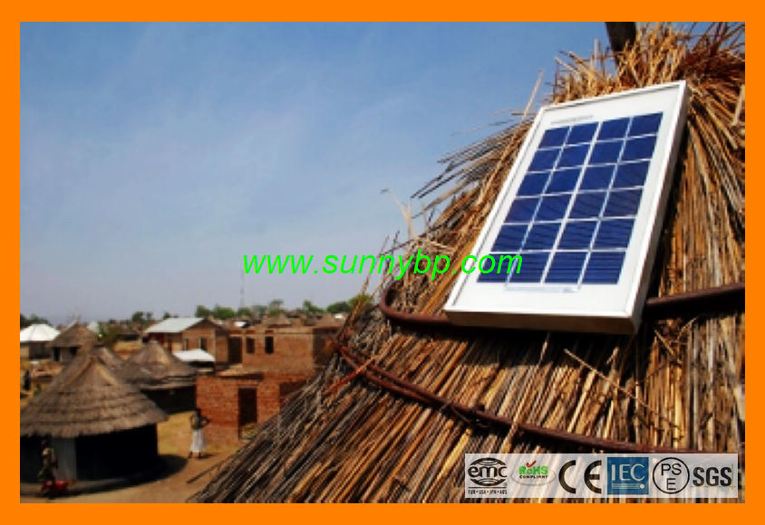 Plug and Play Solar Cell Lighting for Rural Village