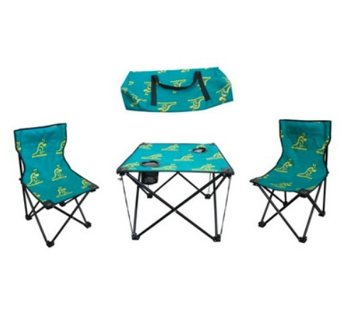 Kids Camping Folding Fishing Chairs with Foldable Table (MW11037)