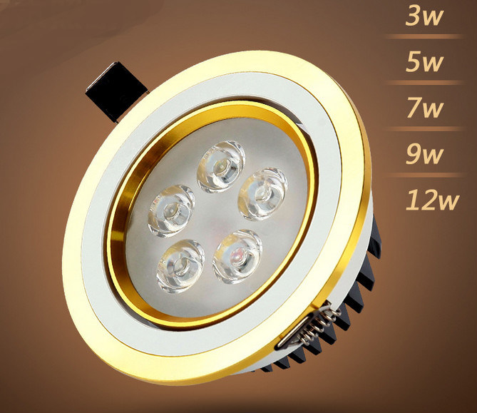 3W/5W/7W/9W/12W LED Downlight for Store and Shop Lighting LED Down Light LED Spot Light
