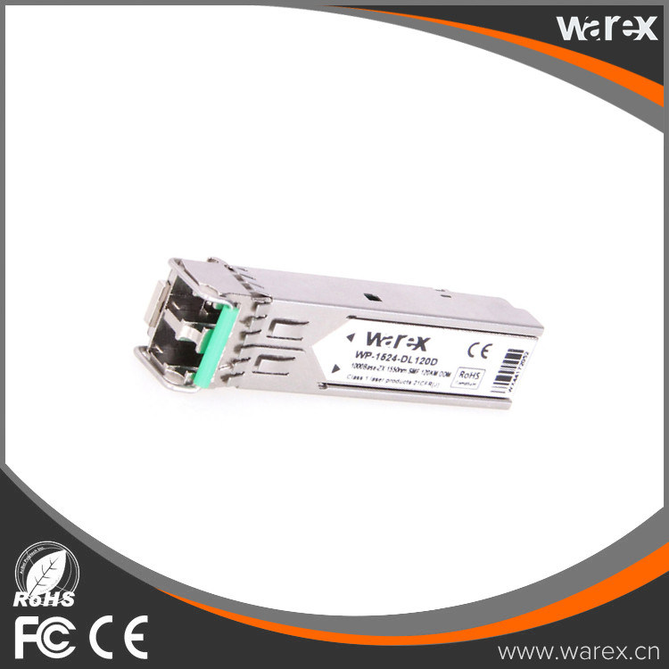 Cisco GLC-EZX-SM= Compatible 1.25g ZX 1550nm DFB+APD SFP Cisco Compatible Transceiver 120km DDM Function