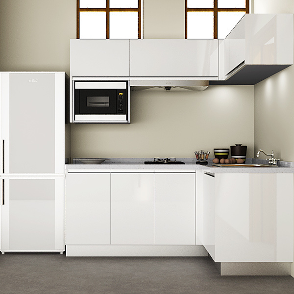 China wholesale kitchen units kitchen corner cabinets for for Small kitchen units pictures
