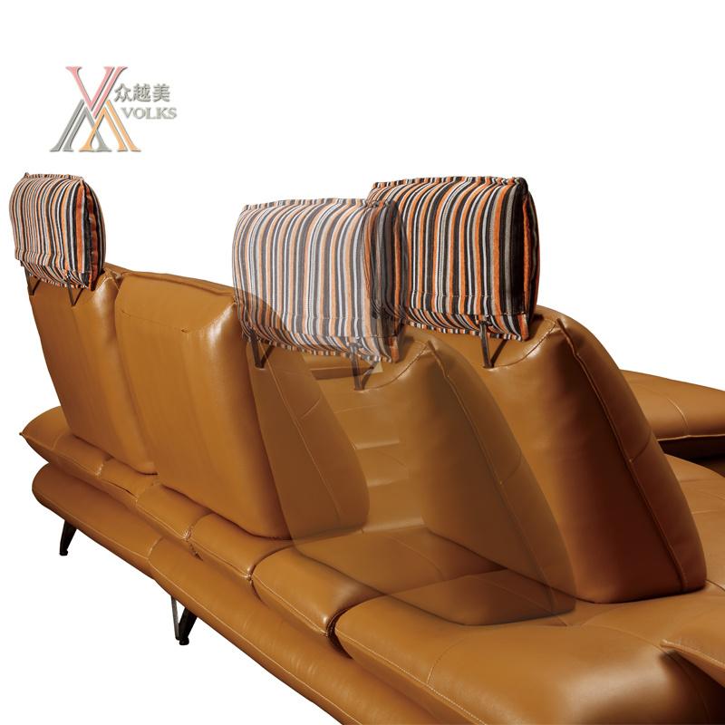 Multifunctional Leather Sofa (836)