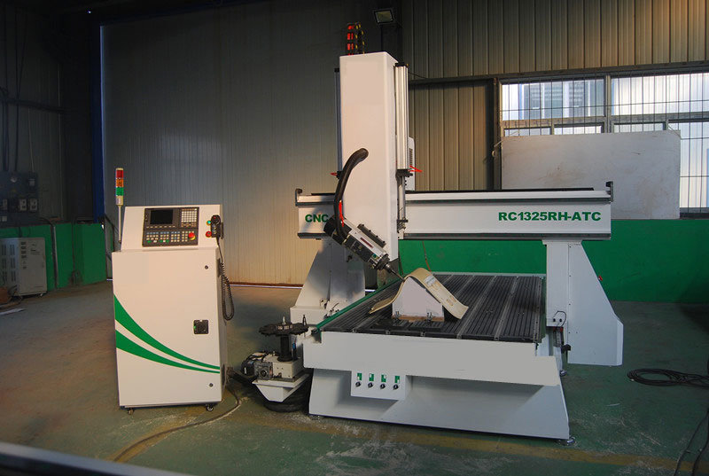 Multifunction CNC Router with 4 Axis for Woodworking (SR1325HD-ATC)