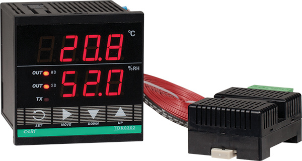 Intelligent Type Temperature&Humidity Controller Tdk0302
