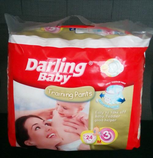 Shengjie OEM Disposable Baby Diaper Pants Manufacture