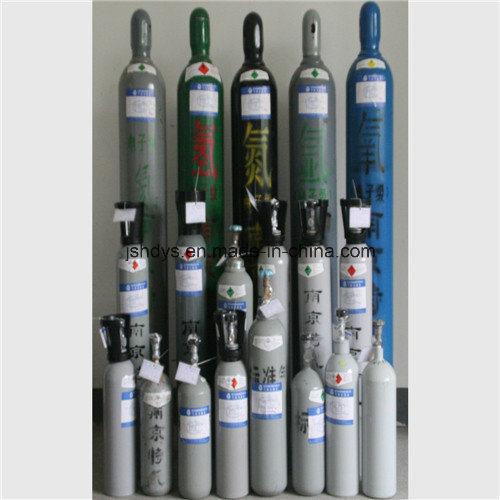 5L Seamless Steel Oxygen Hydrogen Argon Helium CO2 Gas Cylinder (GB5099)