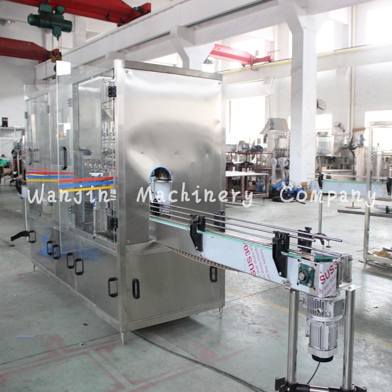 Automatic Efficient Edible Cooking Oil Bottle Filling Production Line