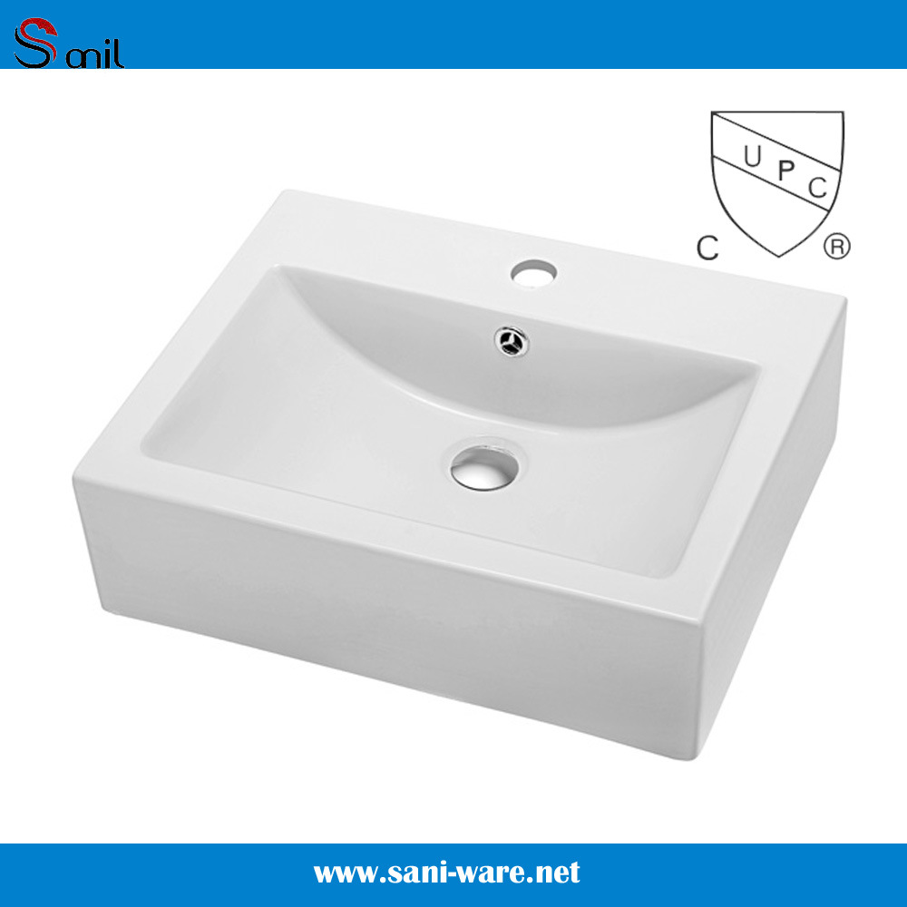 Dining Room Bathroom Furniture Cupc Kitchen Sink Sanitary Ware (SN110-034)