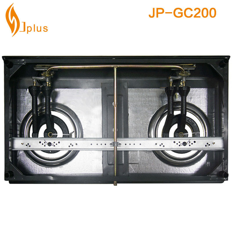Stainless Steel 2 Burner Gas Burner (JP-GC200)