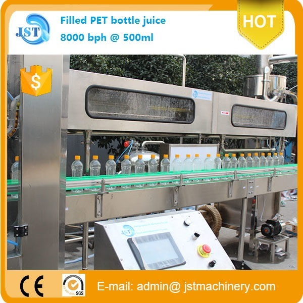 Complete Juice Filling Packing Machine