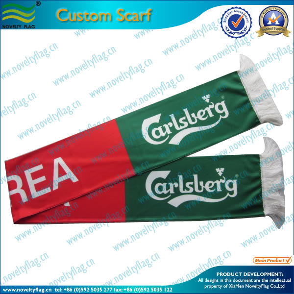 High Quality Football Fans Knitted Sport Scarf (M-NF19F06009)