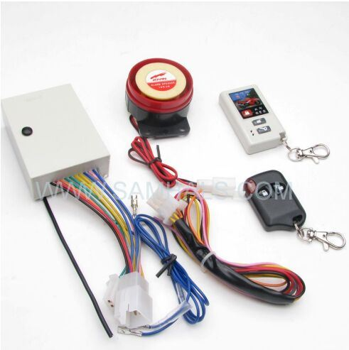 High Quanlity Samhals Universal 12V Two Way Motorcycle Alarm System