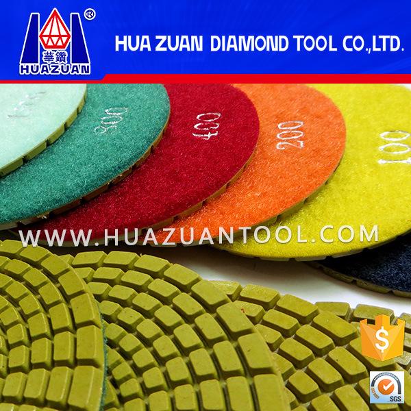 4 Inch Diamond Edge Polishing Tools