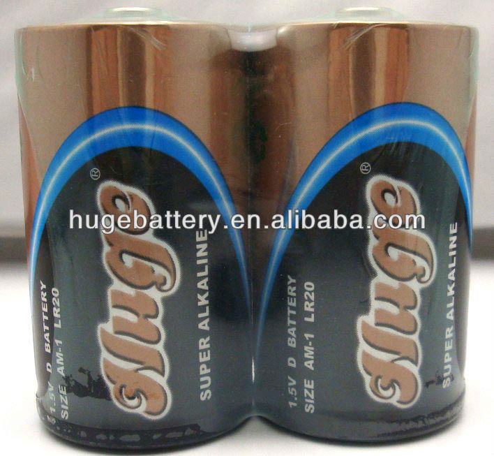 Free Mercury LR6 AA dry Battery Alkaline Battery (AM-3)