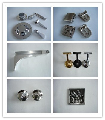 Aluminum Zinc Alloy Die Castings Parts