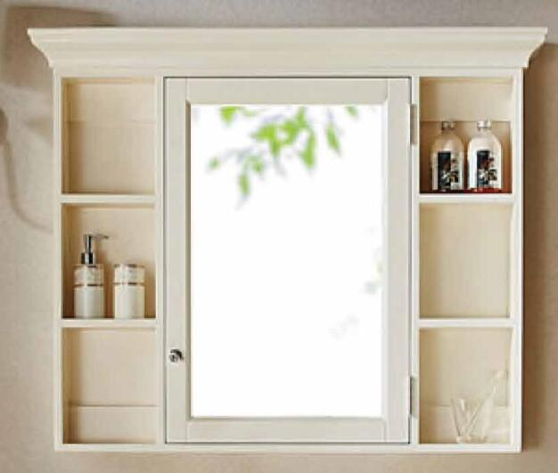 Classical Design Bathroom Cabinet with Floor Standing