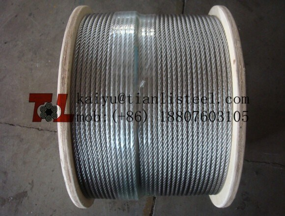 304 7X37 Stainless Steel Wire Rope