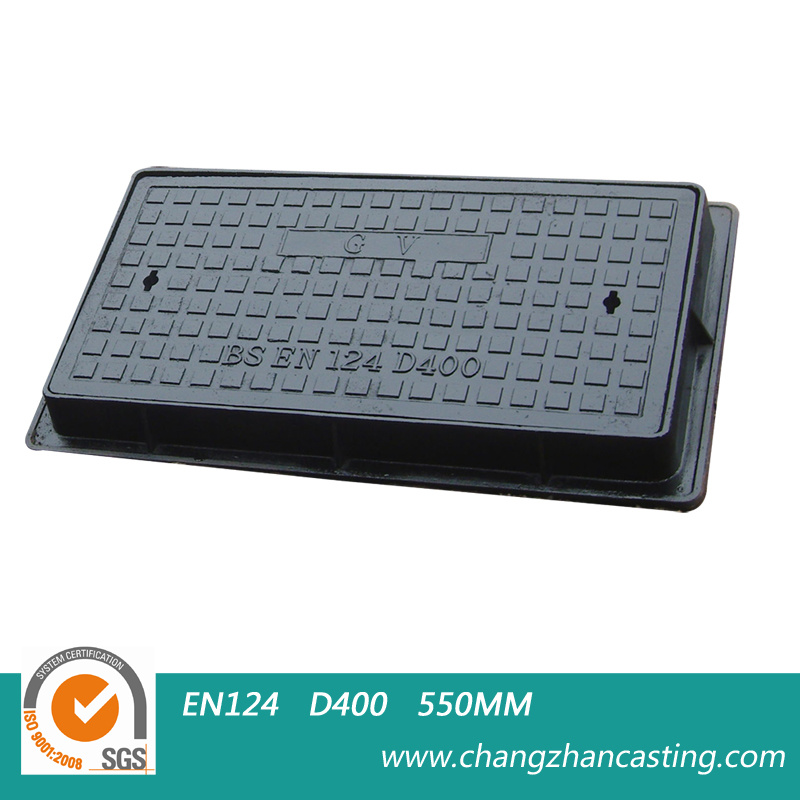 Heavy Duty E600 Ductile Iron Manhole Covers