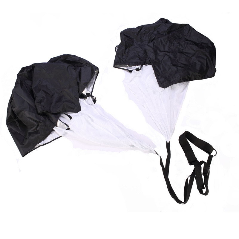 Double Running Chute Speed Resistance Training Parachute