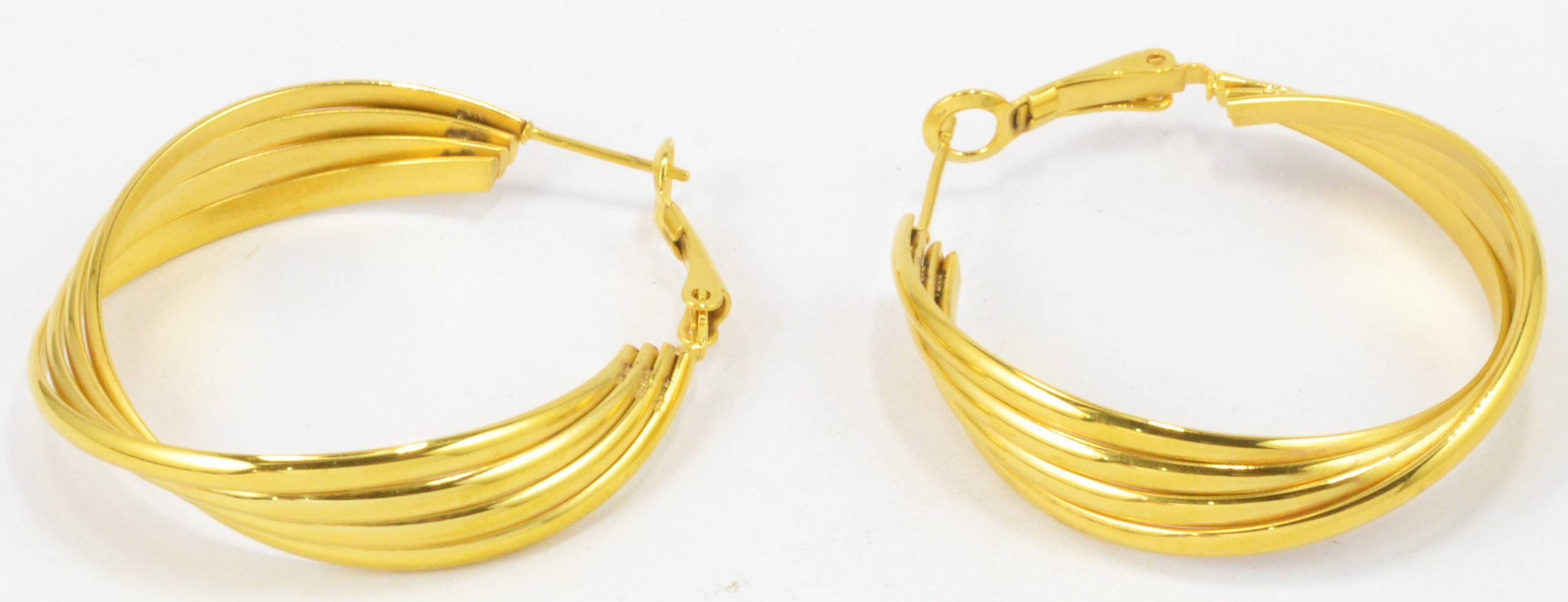 Big Hoop Earrings Stainless Steel Earrings for Young Women Fashion Jwelleries