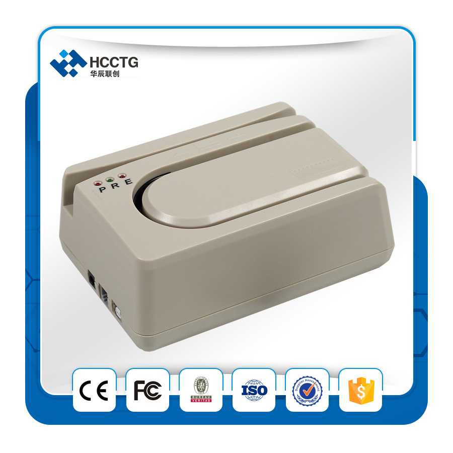 PS/2 Micr & Msr Check Reader Scanner for Bank (HCC1250X-O)