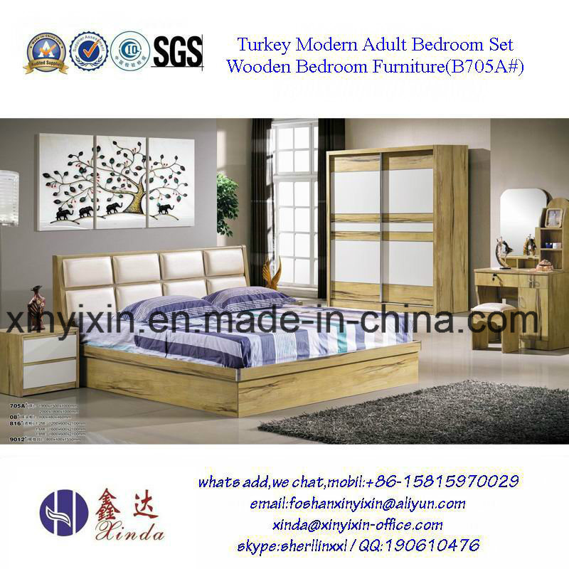 Latest Royal Style Hotel Bedroom Furniture Sets (SH-008#)