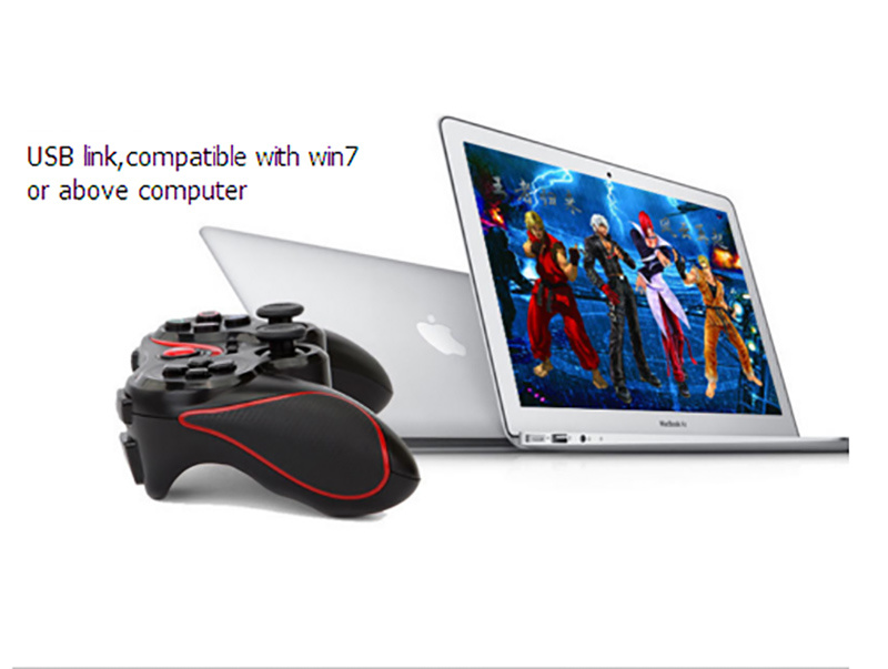 Bluetooth Wireless Phone Gamepad Joystick Controller for PS3/Smart Phones/TV Box/Tablet PC