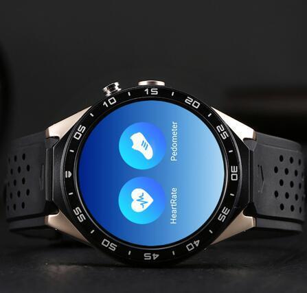 Kw88 Smart Phone Smart Watch Quad Core Android Black Color
