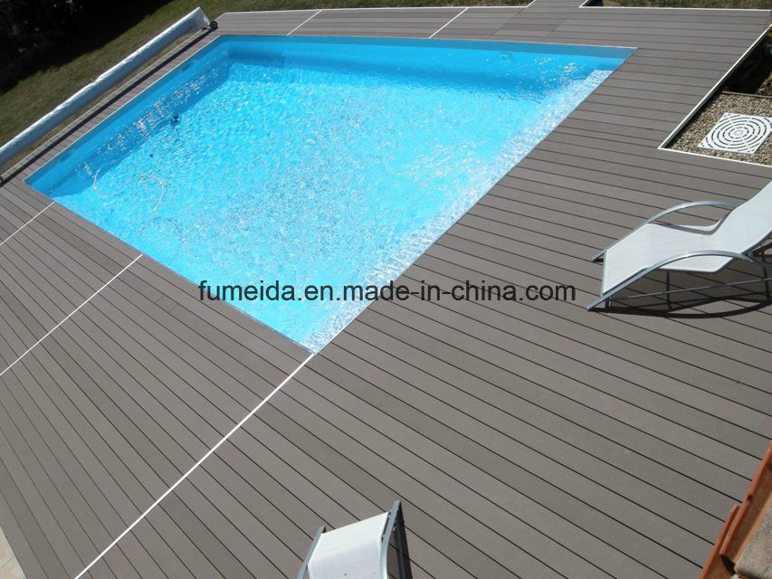 Capped Outdoor Flooring Composite Bpc and WPC Decking 150*25