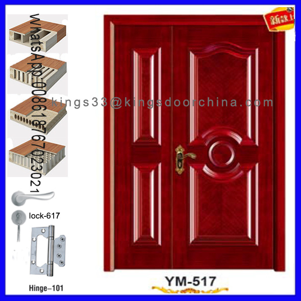 Indian Main Entrance Painting Wooden Door