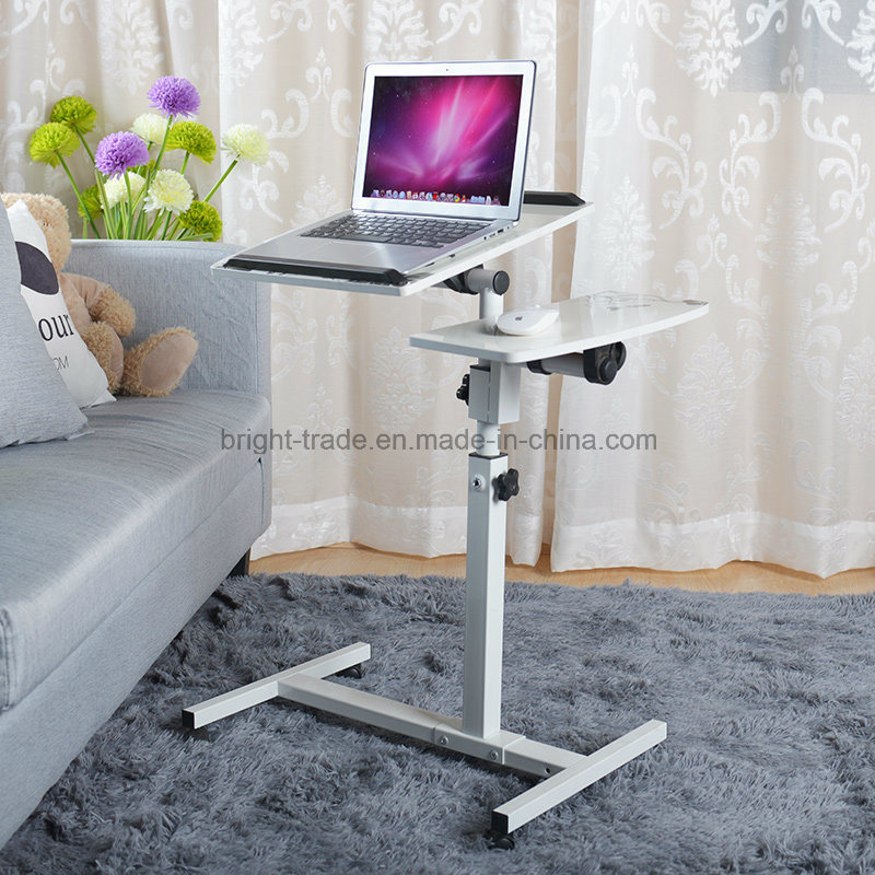 Heigth Adjustable Sit Stand Desk with Wheels