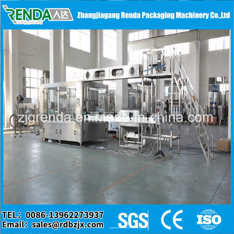 12000bph Pure Mineral Water Bottling Filling Packing Machine